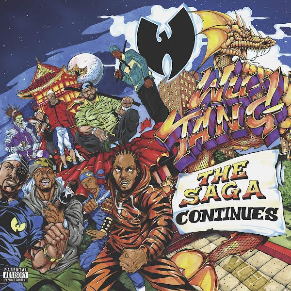 Wu-Tang - The Saga Continues Cover