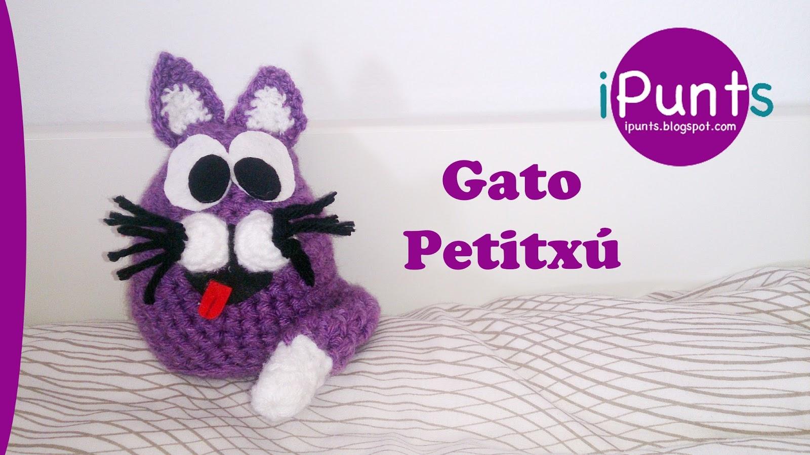 iPunts: Amigurumis: Gato Petitxú