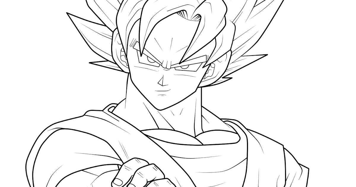 Goku Niño Para Colorear: Imagenes De Goku Black Para Colorear