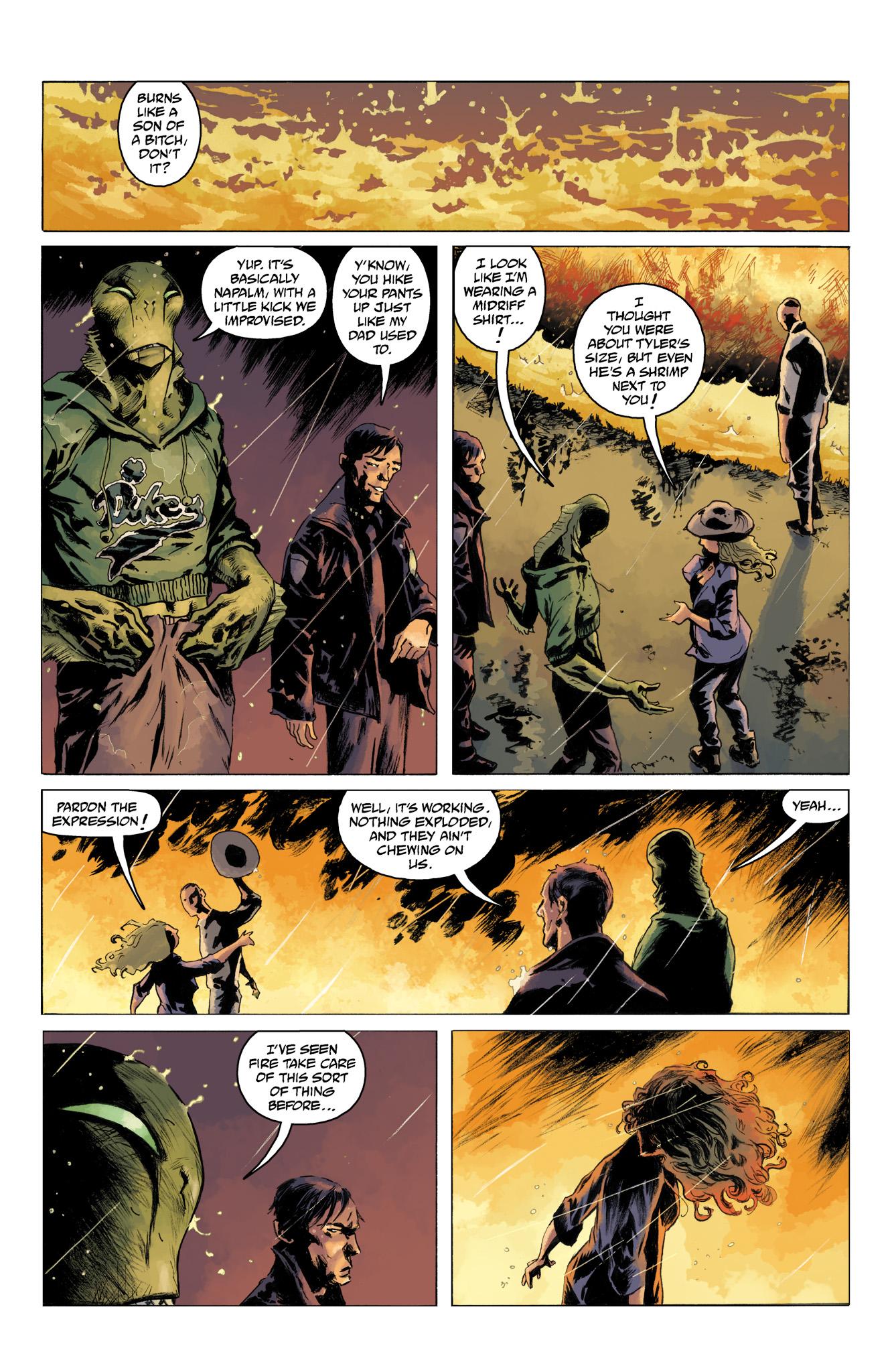 Read online Abe Sapien comic -  Issue #10 - 3