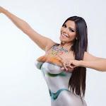 """Suzy Cortez, Se Desnuda Con El Símbolo De Los Juegos Olímpicos"""" De Río 2016 Foto 3"""