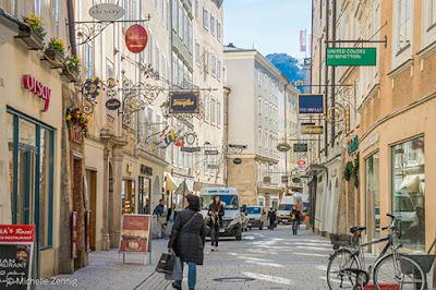 Getreidegasse, Salzburg, Áustria