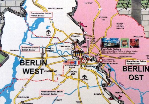 berlim mapa Mapa turístico de Berlim | Dicas de Berlim e Alemanha berlim mapa
