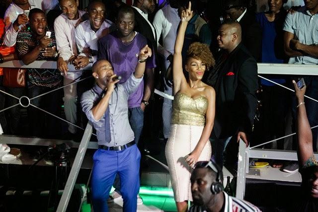 6 Pics: Davido, Mafikizolo, Kcee,Sound Sultan @Tchelete video launch
