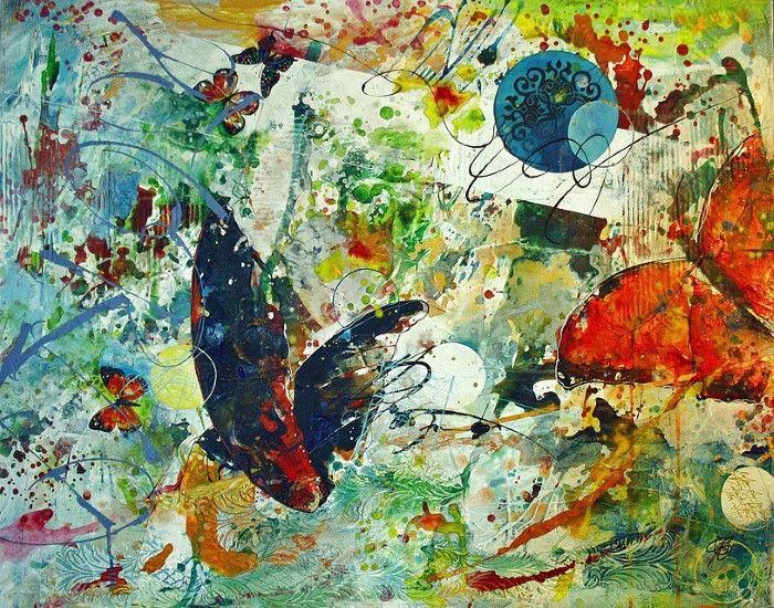 Живописный атлас мира. Carole Bressan