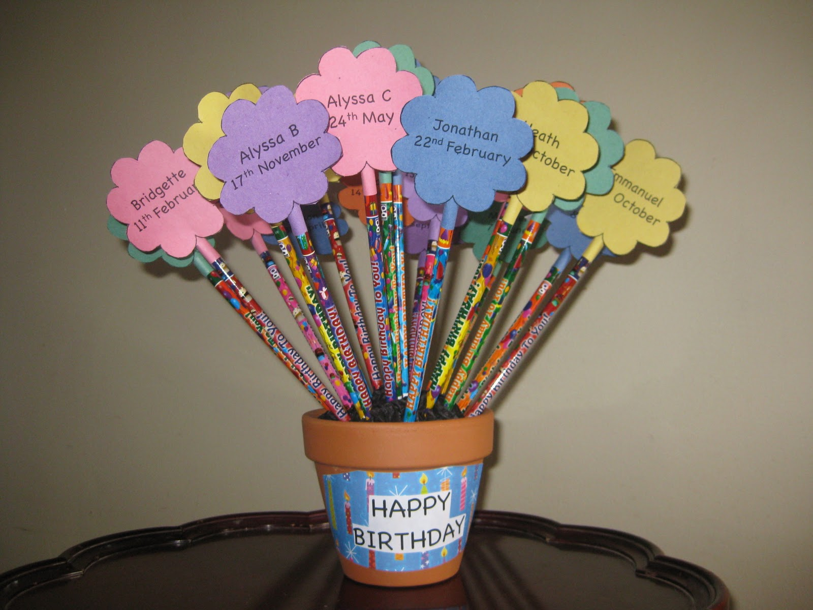 Blogging Teaching And Second Grade Oh My Birthday Pencils