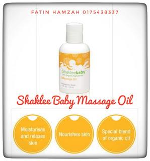 Shaklee-Baby-Massage-Oil