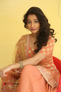 Telugu Actress Santoshi Sharma Latest Stills in Salwar Kameez at HBD Movie Teaser Launch  0086.JPG