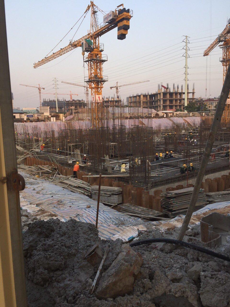Tiến độ thi công dự án chung cư Anland Complex Nam Cường