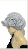 Woman's size crochet beanie silver baby alpaca brush yarn andrea designs handmade bonnet with cap the silver alpaca hat winter wear must have gift