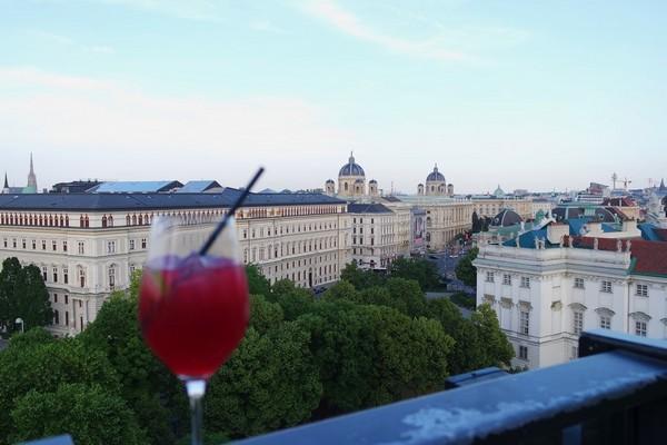 vienne rooftop dachboden bar hotel 25hours