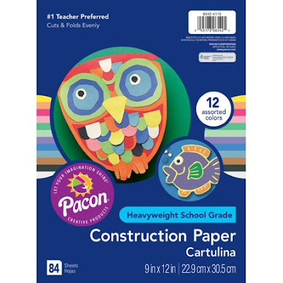 Girl Scout leaders need construction paper for many different crafts