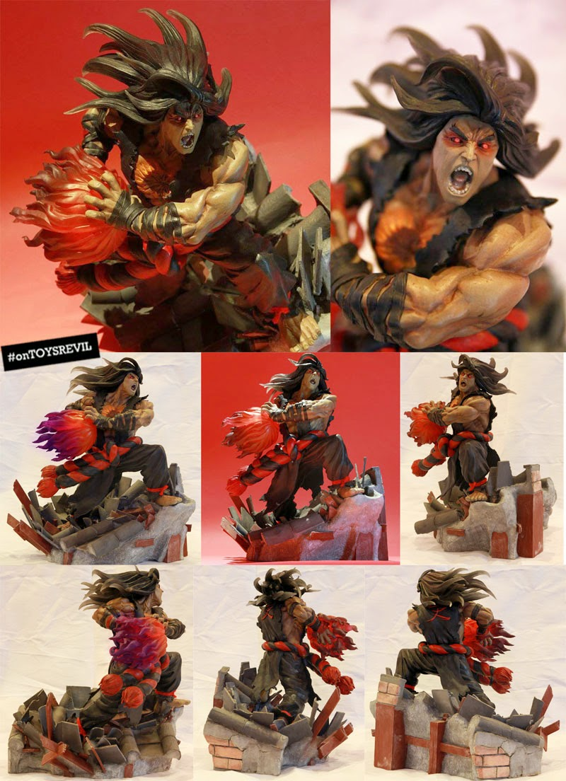 evil ryu by kinetiquettes on order now