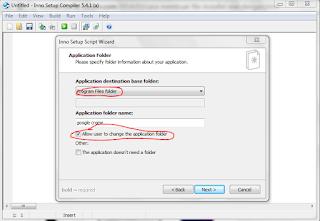 Cara membuat file installer .exe