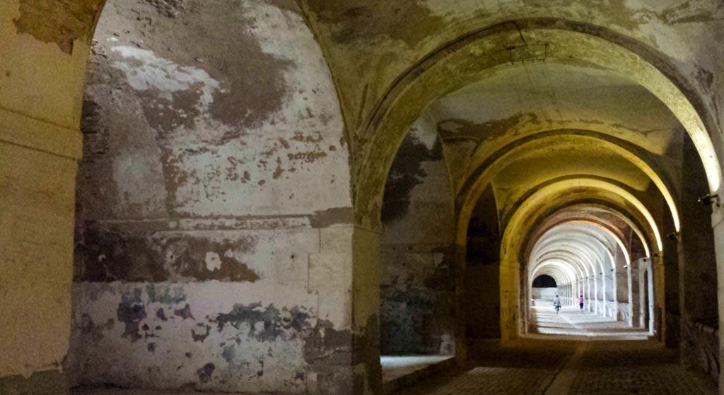 Cisterna Castillo de San Fernando