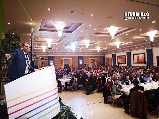 """Προεκλογική συγκέντρωση νίκης της Δημοτικής Παράταξης """"Αλλαγη Πορείας"""" του Δημήτρη Καμπόσου (βίντεο)"""