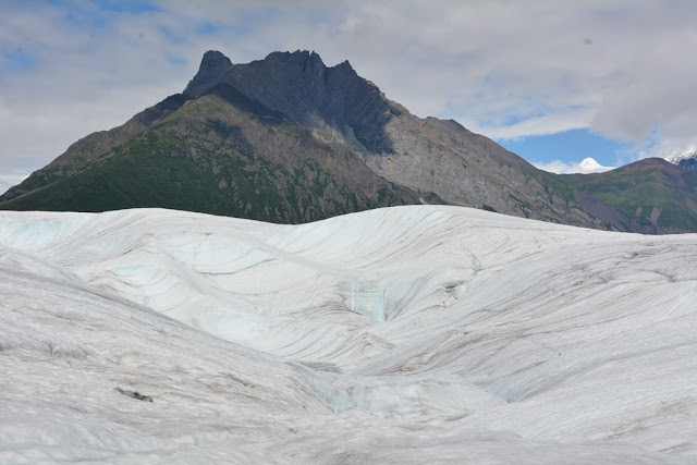 Kennicott Glacier ice