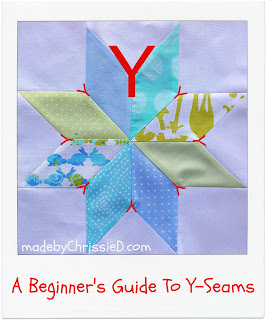 A Beginner's Guide To Y-Seams by www.madebyChrissieD.com