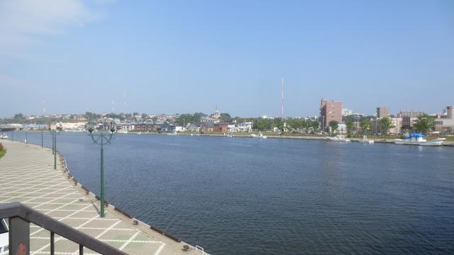 Kushiro - Waterfront am Fluss