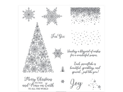 Stampin'Up! snowflake Showcase
