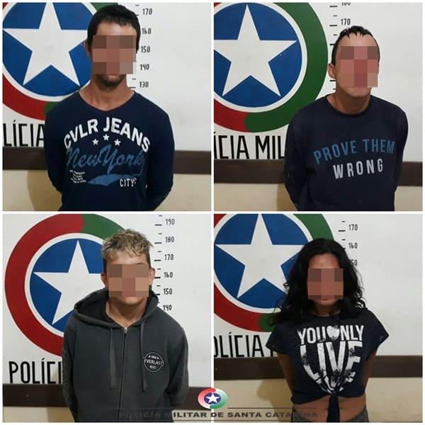 Pai identifica a própria filha como uma das assaltantes de sua casa, em Porto União
