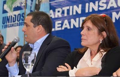 Leandro Martín y Teresa Garcia