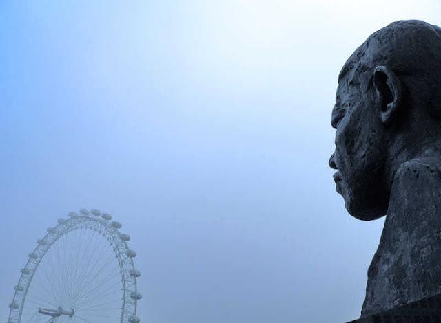 Nelson Mandela y su huerto