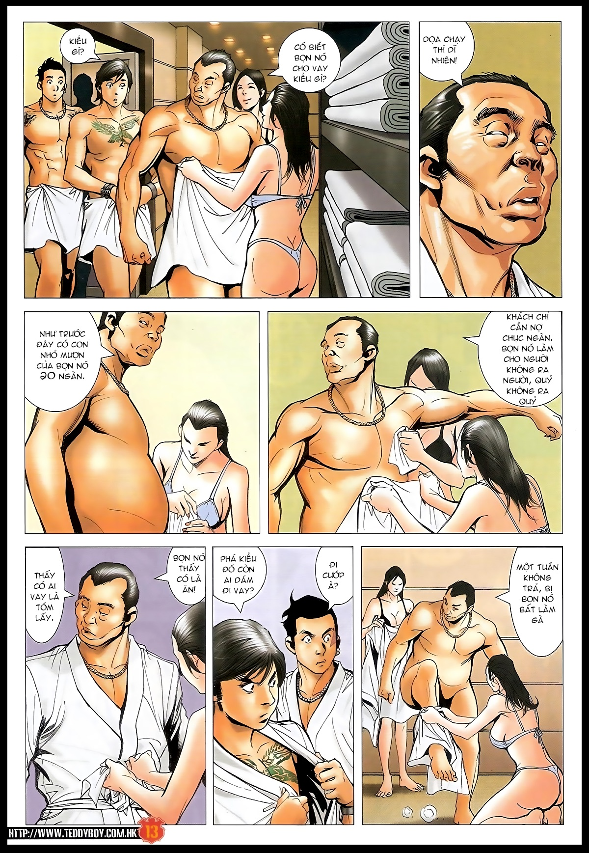 Người Trong Giang Hồ - Chapter 1566: Bốc shit - Pic 12