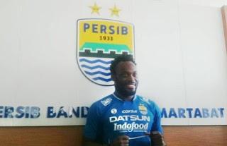 Essien Marquee Player Persib Bandung