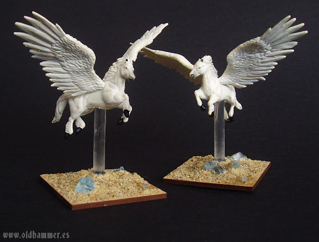 Kings of War - Forces of Nature Pegasus - Pegasos de Fuerzas de la Naturaleza