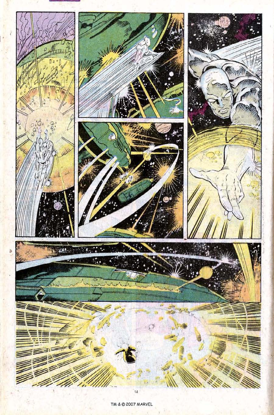 Read online Silver Surfer (1987) comic -  Issue #25 - 16