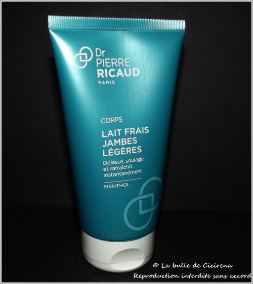 Lait Frais Jambes Légères, Dr Pierre Ricaud Paris