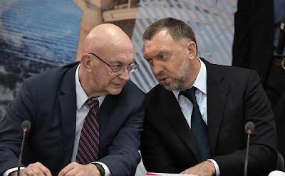 Yevgeny Vaganov, Oleg Deripaska.