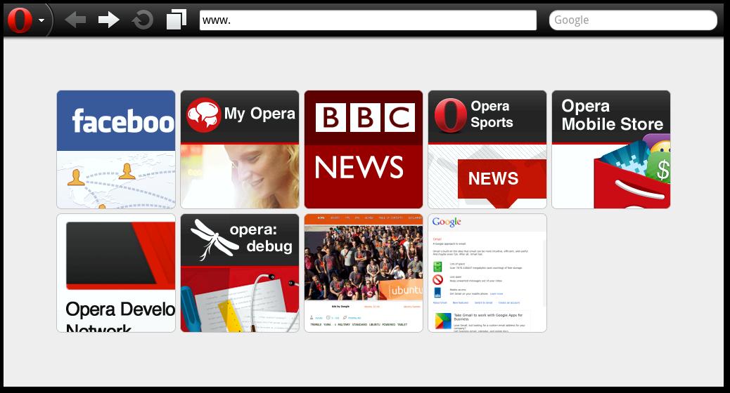 Ubuntu Buzz !: Opera Mobile for Ubuntu