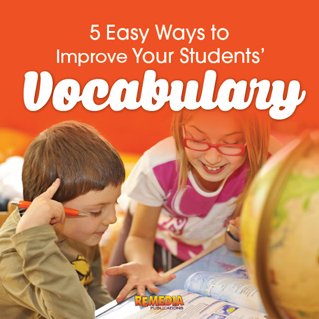 Tips for Improving Students' Vocabulary Skills | Remedia Publications