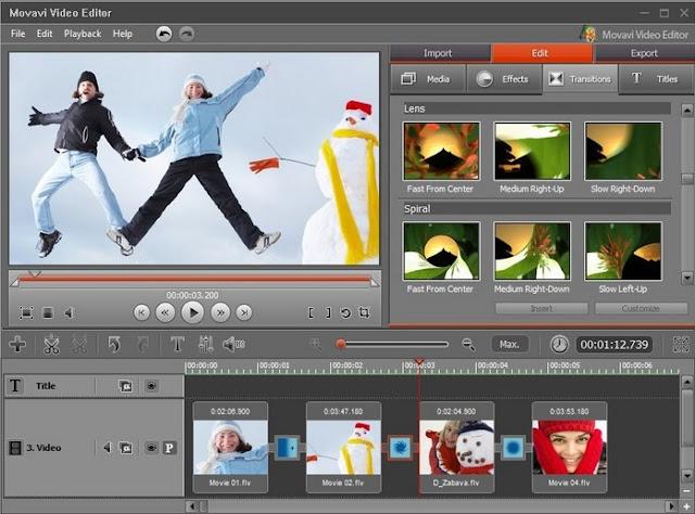 تحميل برنامج Movavi Video Editor 12.5.0 انتاج مقاطع فيديو