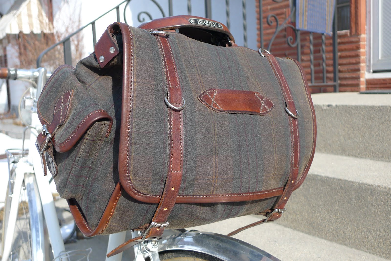 Vintage Saddle Bag 115