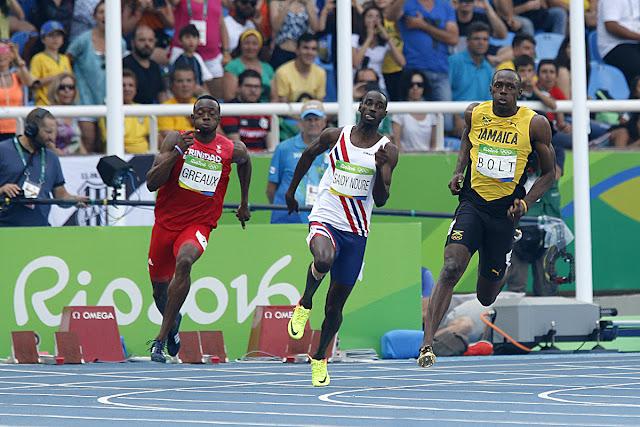 Usain Bolt corre en Rio 2016