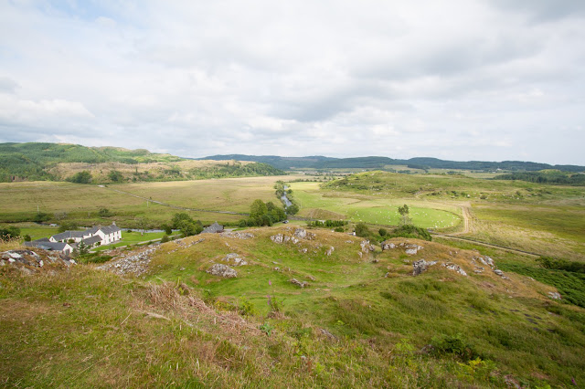 Kilmartin glen-Dunadd fort