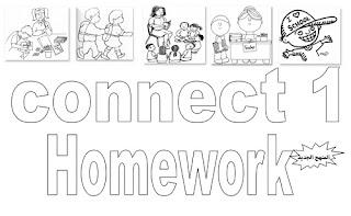 تحميل كراسة واجب Connect 1 للصف الأول الابتدائي