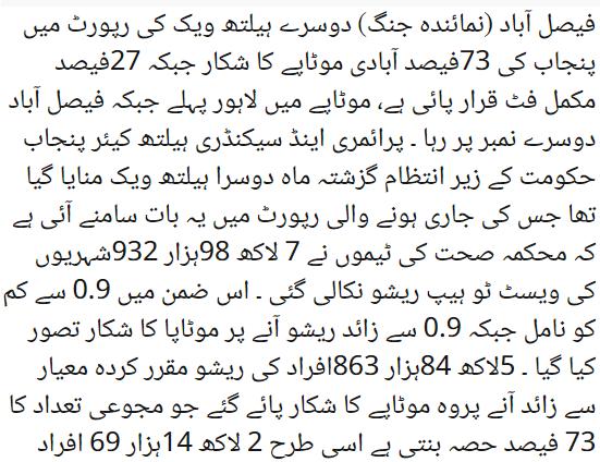 pakistan fat person