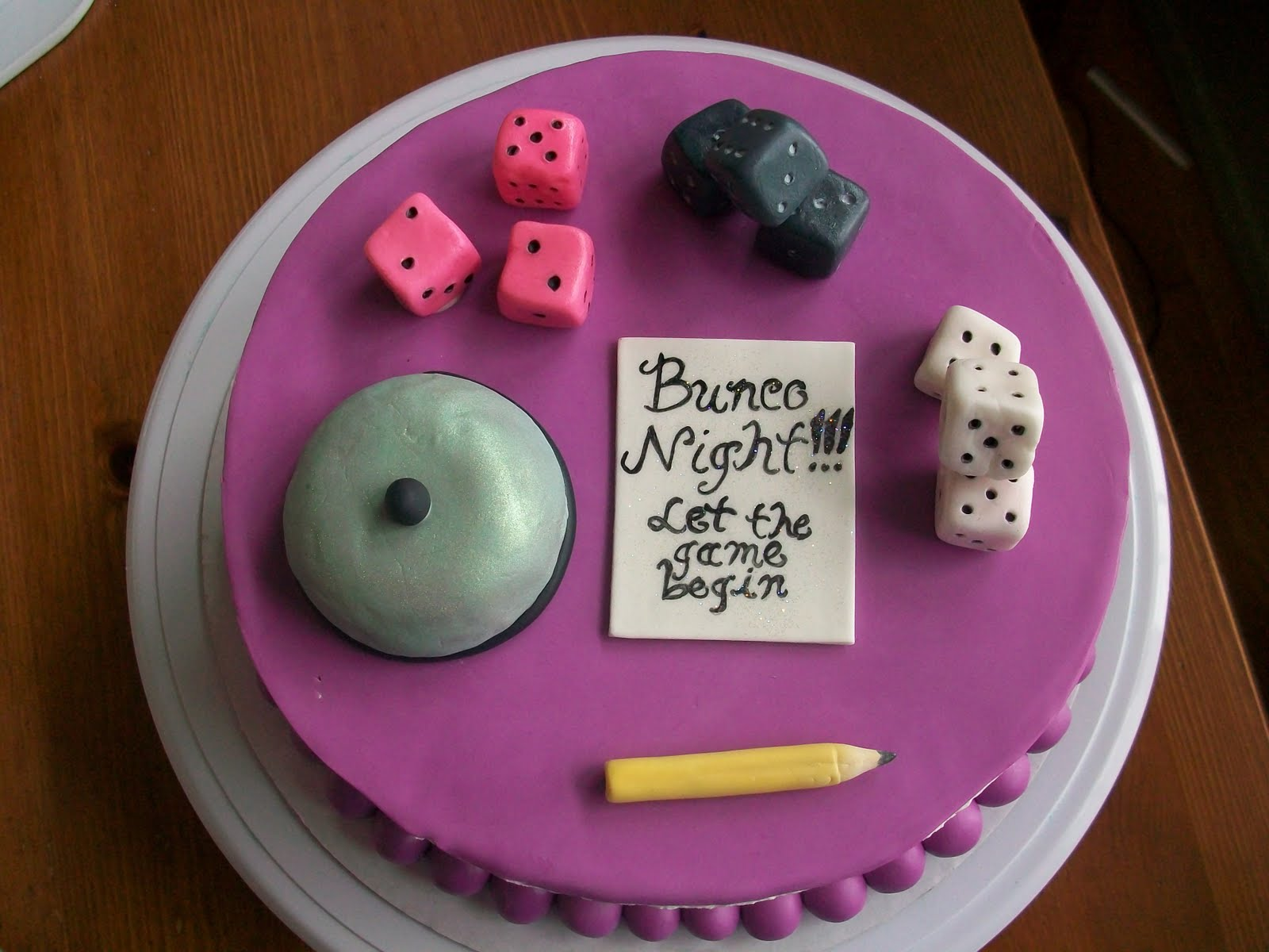 Sweet Chick S Bunco Cake