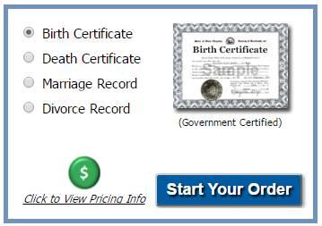 Order Birth Certificate