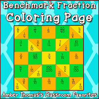 http://www.teacherspayteachers.com/Product/Using-One-Half-as-a-Benchmark-Fraction-Coloring-Page-605234
