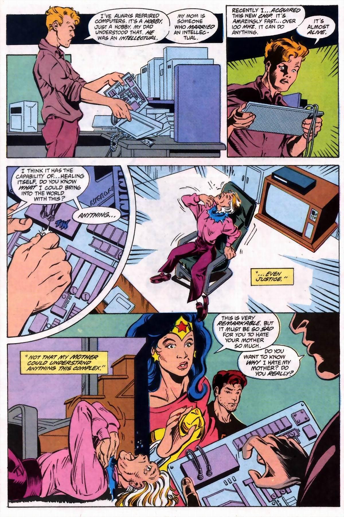 Read online Wonder Woman (1987) comic -  Issue #74 - 16
