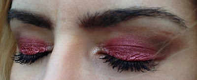 valentine's day makeup look, martinovic senke, martinovic karmin