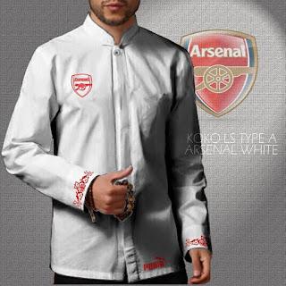 Baju Koko Arsenal Murah