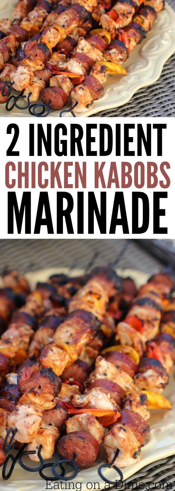 EASY GRILLED CHICKEN KABOB RECIPE
