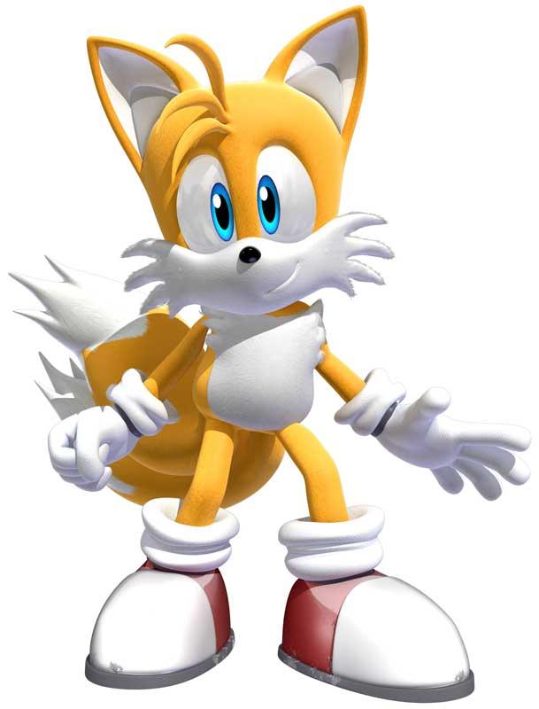 Tails compañero de Sonic
