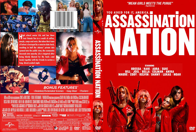 Assassination Nation DVD Cover